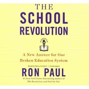 The School Revolution Ron Paul Audiobook CD