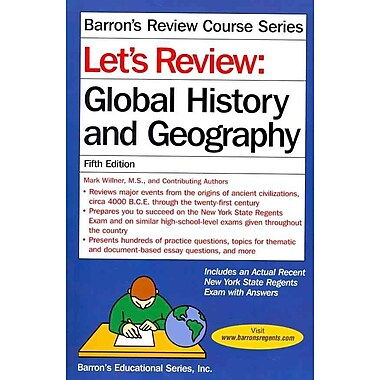 Global History and Geography Power Pack Mark Willner Paperback