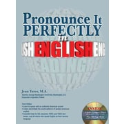 Pronounce It Perfectly in English Jean Yates Paperback