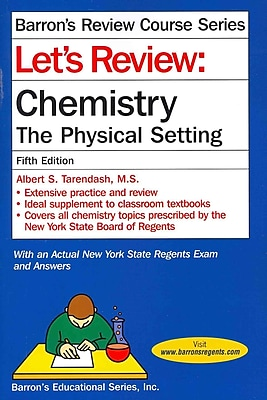 Chemistry--The Physical Setting Power Pack Albert S. Tarendash M.S Paperback