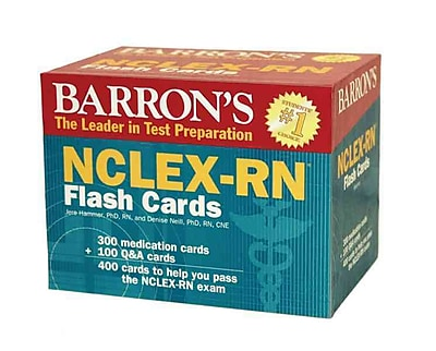 NCLEX-RN Flash Cards Jere Hammer Ph.D, Denise Neill Ph.D Cards