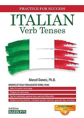 Italian Verb Tenses Marcel Danesi Paperback
