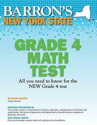 New York State Grade 4 Math Test Margery Masters M.S. Ed. 3rd Edition