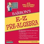 Barron's E-Z Pre-Algebra Caryl Lorandini Paperback