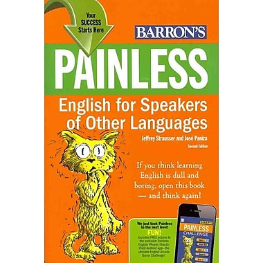 Painless English For Speakers Of Other Languages Jeffrey Strausser, Jose Paniza Paperback