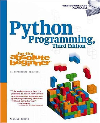 Python Programming for the Absolute Beginner Michael Dawson Paperback