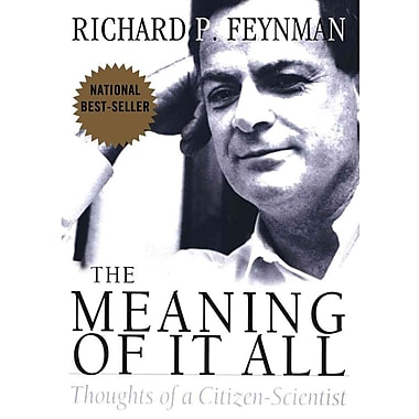 The Meaning of It All Richard Phillips Feynman Paperback