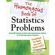 The Humongous Book of Statistics Problems W. Michael Kelley, Robert A. Donnelly Paperback