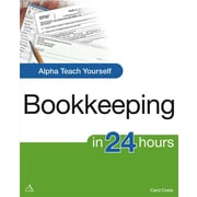 Alpha Teach Yourself Bookkeeping in 24 Hours Carol Costa Paperback