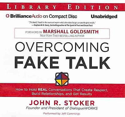 Overcoming Fake Talk John R. Stoker Audiobook