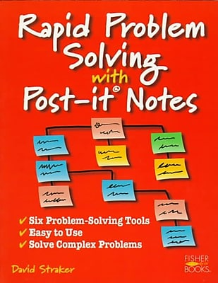 Rapid Problem Solving With Post-It Notes David Straker Paperback