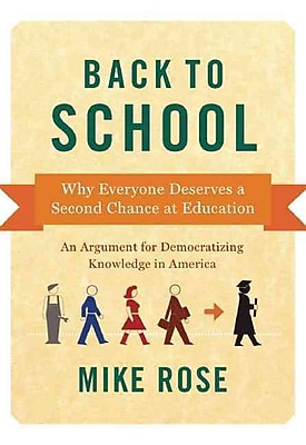 Back to School Mike Rose Hardcover
