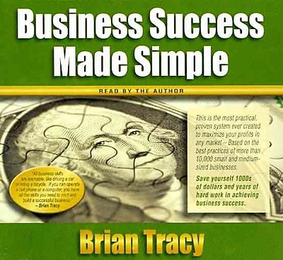 Business Success Made Simple Brian Tracy CD