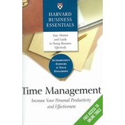 Time Management Harvard Business School Press Paperback