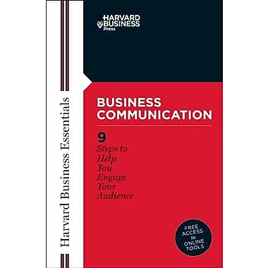 Business Communication Business Essentials Harvard Paperback