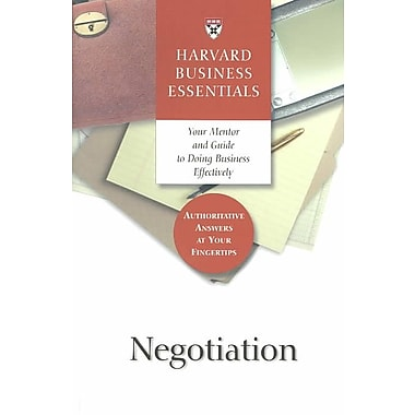 Negotiation Michael Wheeler Paperback
