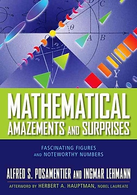 Mathematical Amazements and Surprises Alfred S. Posamentier, Ingmar Lehmann Paperback