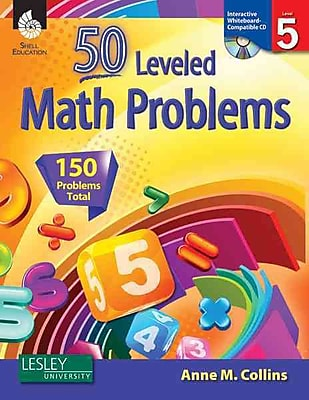 50 Leveled Math Problems (50 Leveled Problems for the Mathematics Classroom) Anne Collins Level 5 474150
