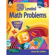 50 Leveled Math Problems (50 Leveled Problems for the Mathematics Classroom) Anne Collins Level 5