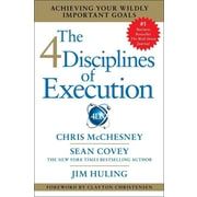 The 4 Disciplines Of Execution Chris McChesney , Sean Covey, Jim Huling Hardcover
