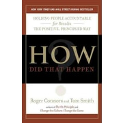 How Did That Happen? Roger Connors, Tom Smith Paperback