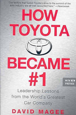 How Toyota Became #1 David Magee Paperback