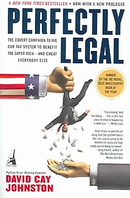 Perfectly Legal David Cay Johnston Paperback