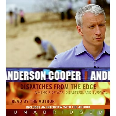 Dispatches from the Edge CD Anderson Cooper A Memoir of War, Disasters, and Survival Audiobook CD