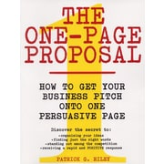 The One-Page Proposal Patrick G. Riley Paperback