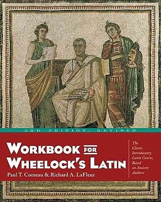 Workbook for Wheelock's Latin Paul T. Comeau, Richard A. LaFleur Paperback