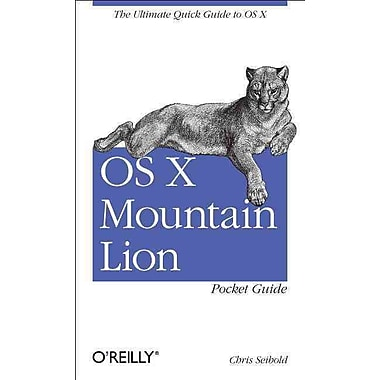 OS X Mountain Lion Pocket Guide Chris Seibold 1st Edition