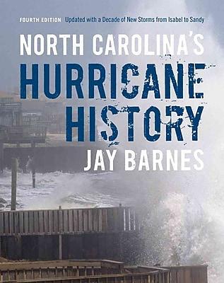North Carolina's Hurricane History Jay Barnes Hardcover