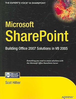 Microsoft Sharepoint Scot Hillier Paperback