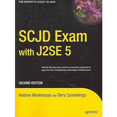 SCJD Exam with J2SE 5 Terry Camerlengo, Andrew Monkhouse Paperback