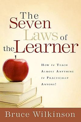 The Seven Laws Of The Learner Bruce Wilkinson Hardcover