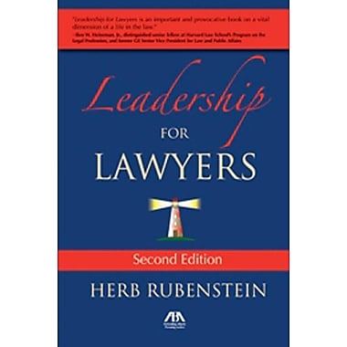 Leadership for Lawyers Herb Rubenstein Paperback
