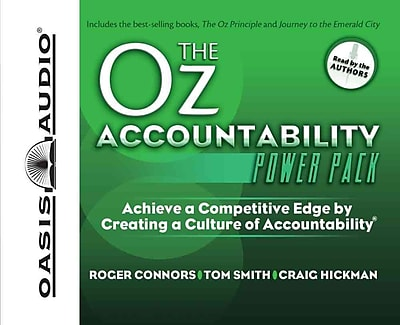 The Oz Accountability Power Pack Roger Connors, Tom Smith CD