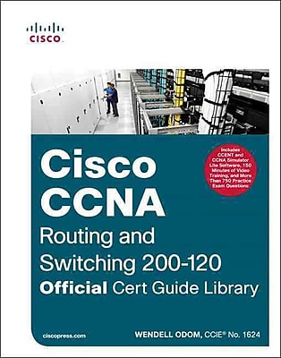 Cisco CCNA Routing + Switching 200-120 Wendell Odom Hardcover