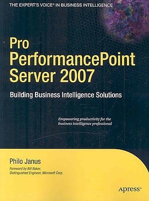 Pro PerformancePoint Server 2007 Philo Janus Paperback