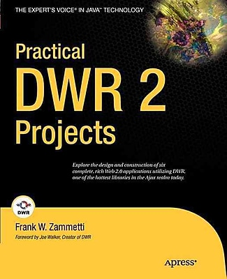 Practical DWR 2 Projects (Expert's Voice in Java) Frank Zammetti Paperback