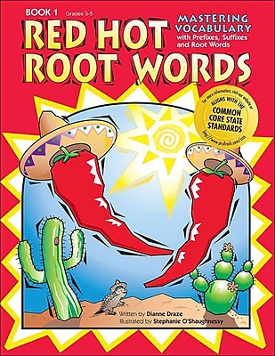 Red Hot Root Words Book 1 Dianne Draze Paperback