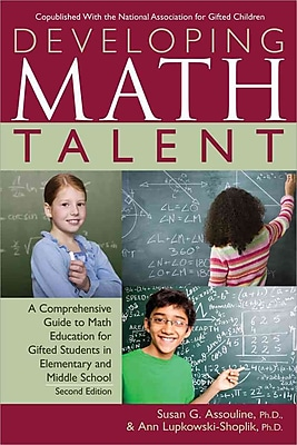 Developing Math Talent Susan Assouline Ph.D , Ann Lupkowski-Shoplik Ph.D. Paperback