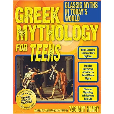 Greek Mythology for Teens Zachary Hamby Paperback