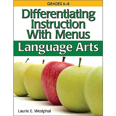 Differentiating Instruction With Menus Laurie Westphal