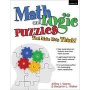 Math and Logic Puzzles That Make Kids Think, Grades 6-8 Jeffrey Wanko Paperback