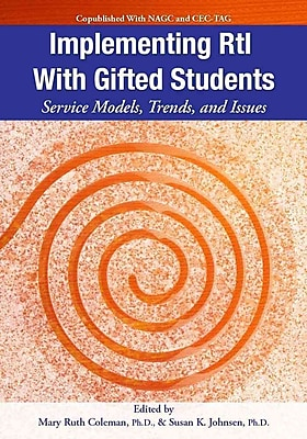 Implementing Rti With Gifted Students Susan Johnsen Ph.D , Mary Ruth Coleman Ph.D Paperback