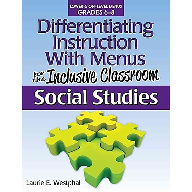 Differentiating Instruction with Menus for the Inclusive Classroom Paperback Science