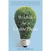 Wisdom For A Livable Planet Carl N. McDaniel Paperback