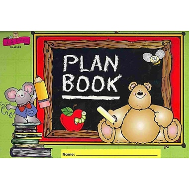Dj Inkers Plan Book Carson-Dellosa Plan Book