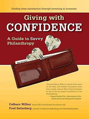 Giving With Confidence Colburn Wilbur, Fred Setterberg Hardcover